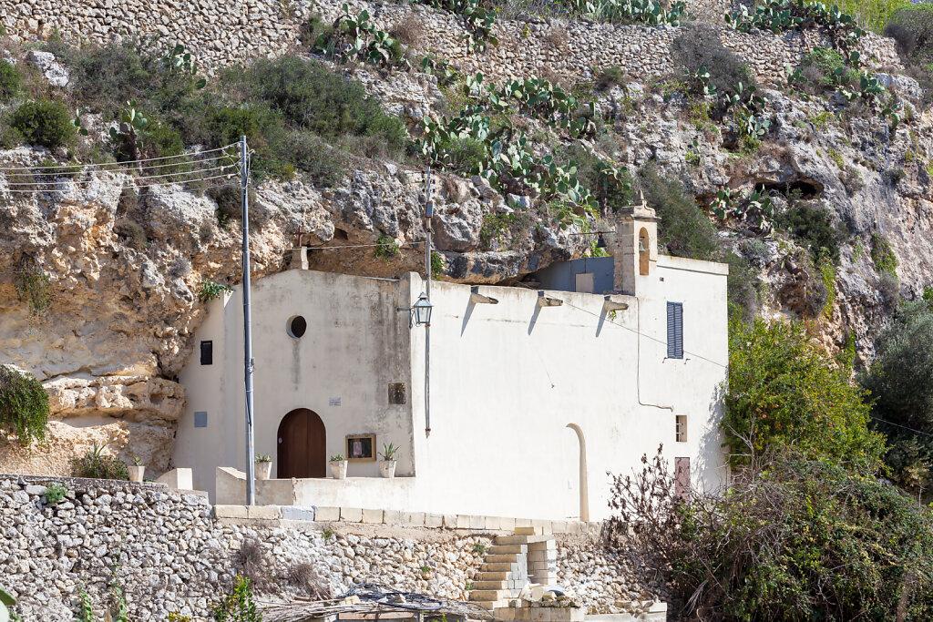 Chapel at Wied il-Lunzjata, Kercem - Gozo (Malta)