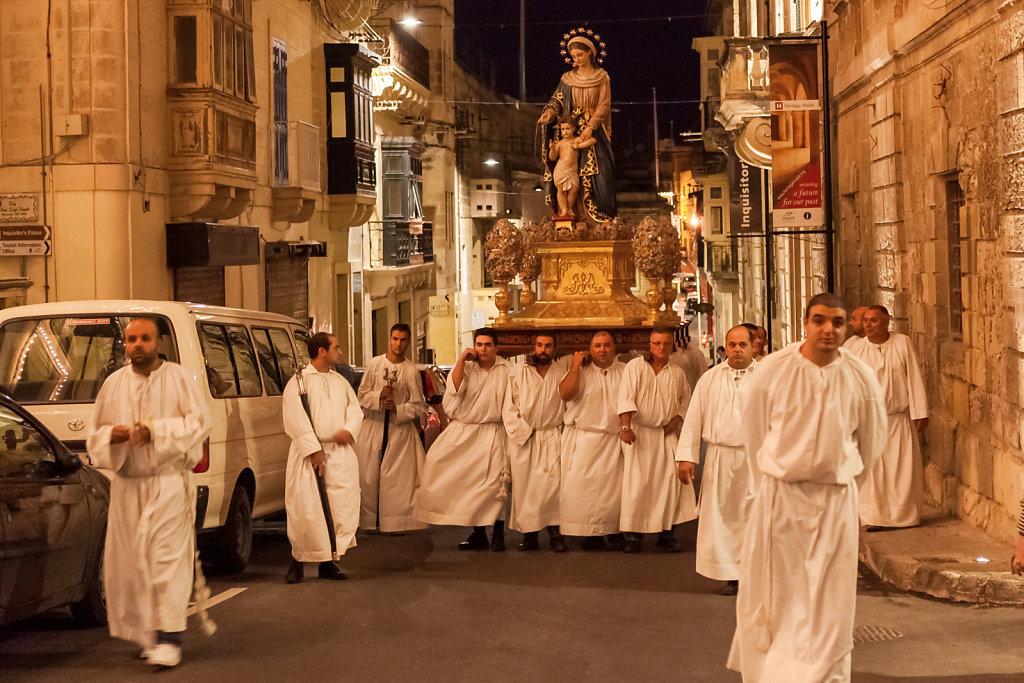 Prozession in Birgu