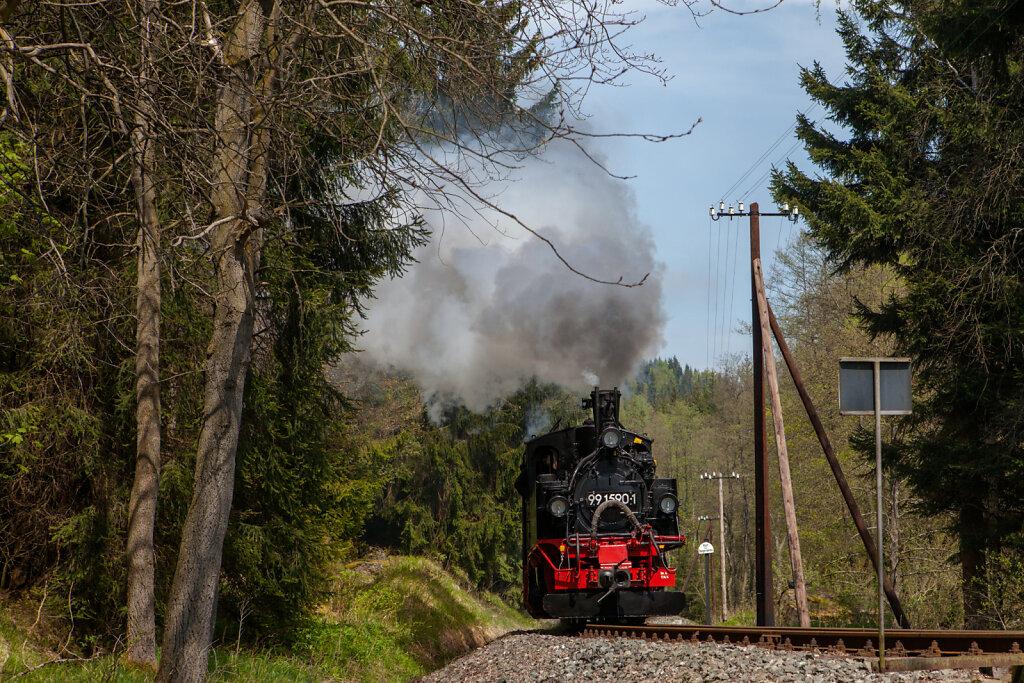 99 590 mit Personenzug