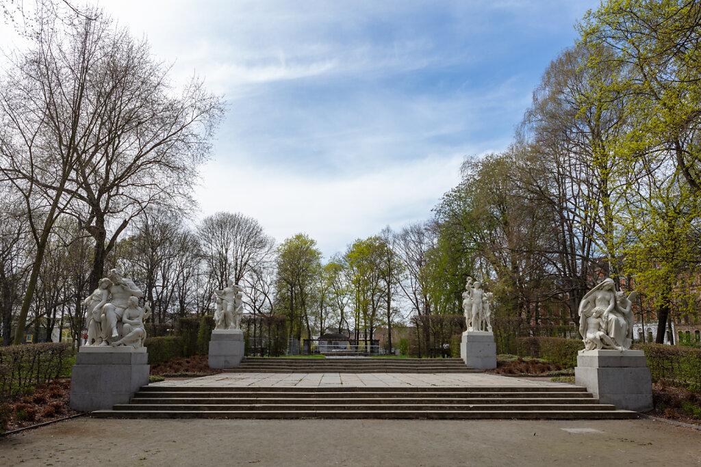 Schillingsche Figuren am Schloßteich Chemnitz