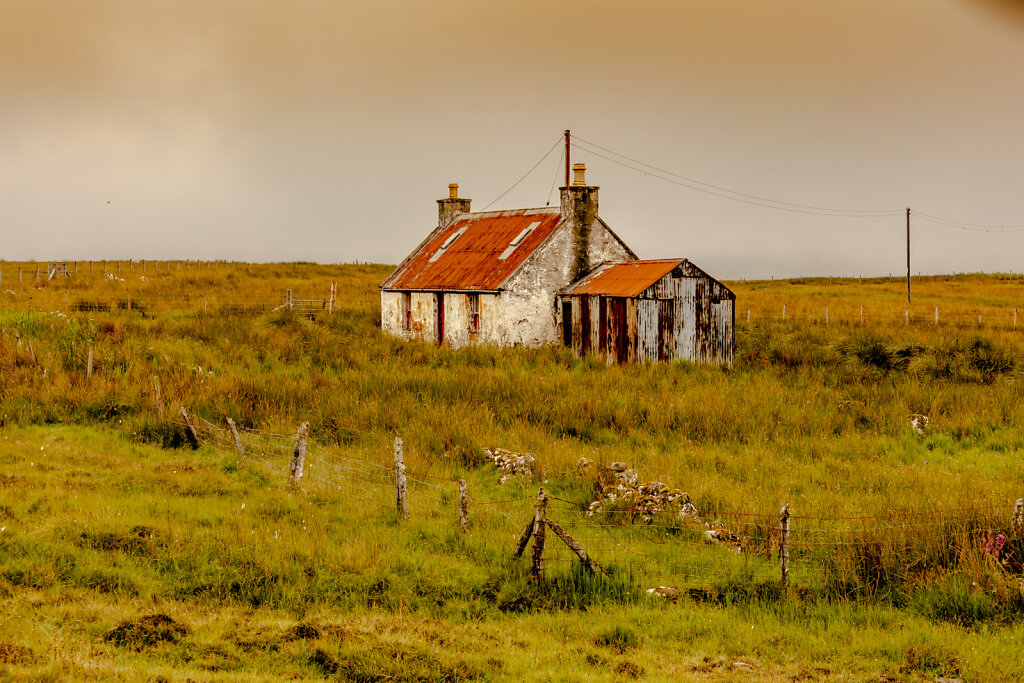 Lost Place / Staffin (Insel Skye / Schottland)